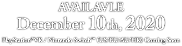 AVAILAVLE December 10th, 2020